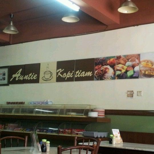 Photo taken at Auntie Kopitiam by Jerro A. on 7/18/2012