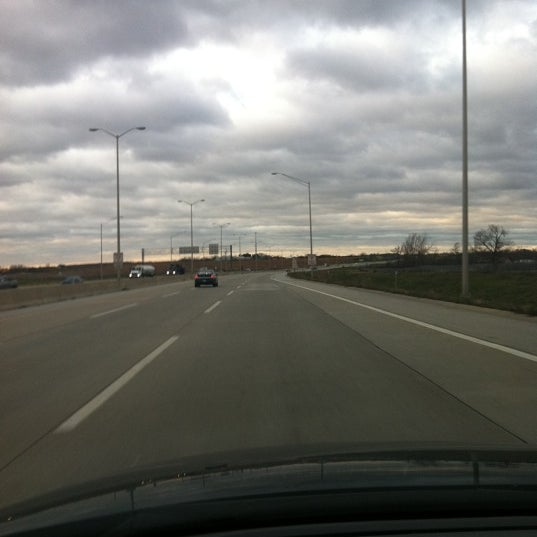 Photo taken at Veterans Memorial Tollway by The Swi Fox on 11/29/2011