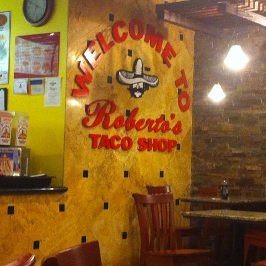 Photo taken at Roberto's Taco Shop by Crystal on 2/24/2011