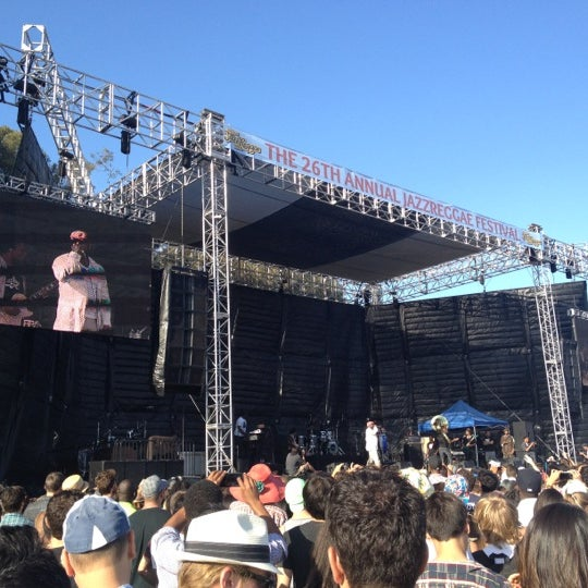 Photo taken at UCLA Intramural Field by Lindsay G. on 6/7/2012