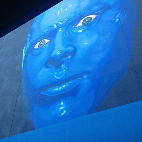 Photo taken at Blue Man Group at Universal CityWalk by Devang M. on 7/14/2012