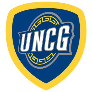 UNCG Spartan Warrior badge