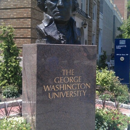 Photo taken at The George Washington University by Phil K. on 7/19/2012