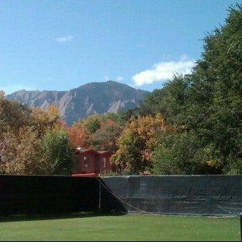 Photo taken at Prentup Field by Lindsay L. on 10/16/2011
