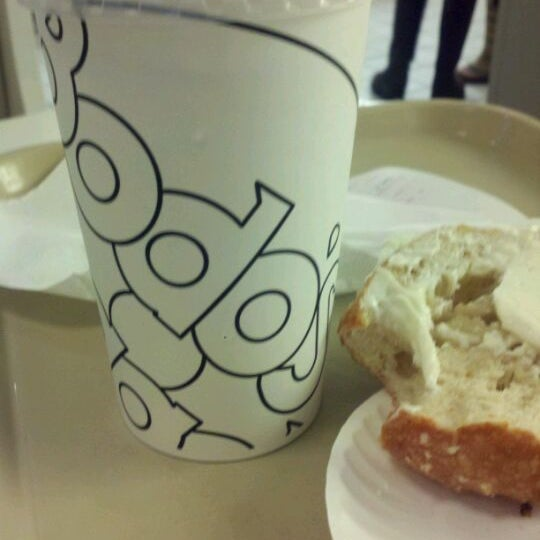 Photo taken at Bodo's Bagels by Denise H. on 10/12/2011