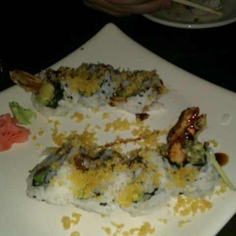 Photo taken at Sushi On The Rocks by Holly L. on 1/10/2012