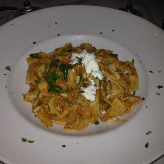 Photo taken at Timpano Italian Chop House by Tamara S. on 2/28/2012