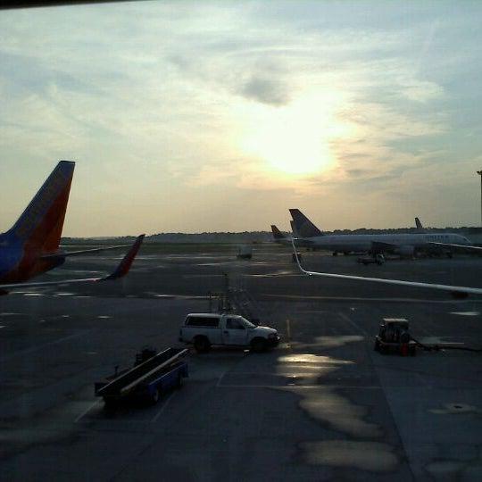 Photo taken at Portland International Jetport (PWM) by Brandon C. on 6/10/2011