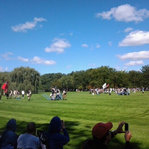 Photo taken at Cantigny Park by Ange C. on 9/8/2012