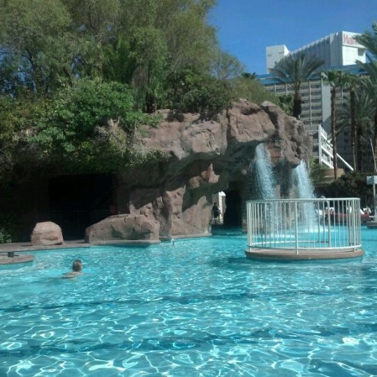 Photo taken at Flamingo GO Pool by Dawn B. on 4/19/2012