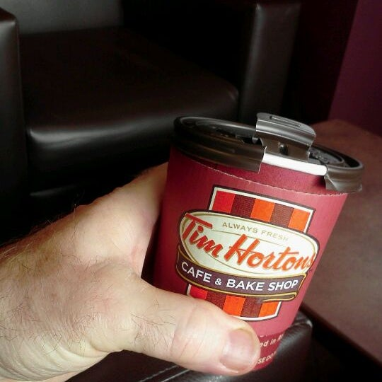 Photo taken at Tim Hortons by Steve A. on 12/8/2011