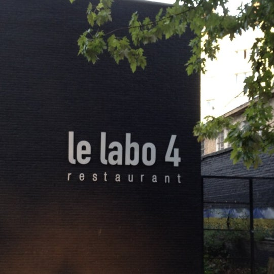Le labo 4 french restaurant in outremeuse for Le labo cuisine