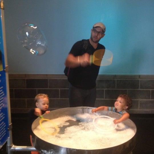 Photo taken at Long Island Children's Museum by Brandon on 7/28/2012