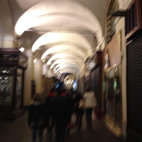 Photo taken at Via Po by Francesco L. on 4/14/2012