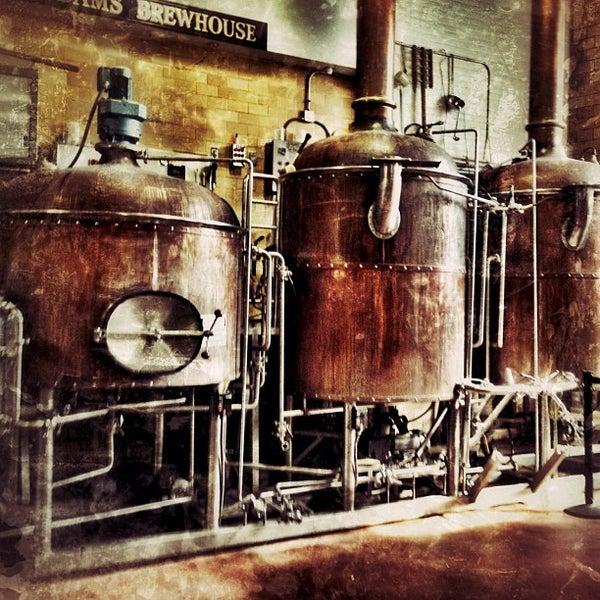 Photo taken at Samuel Adams Brewery by Stefanie M. on 8/25/2012