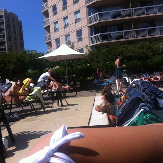 Photo taken at Grand Plaza Pool by Олечка ). on 7/8/2012