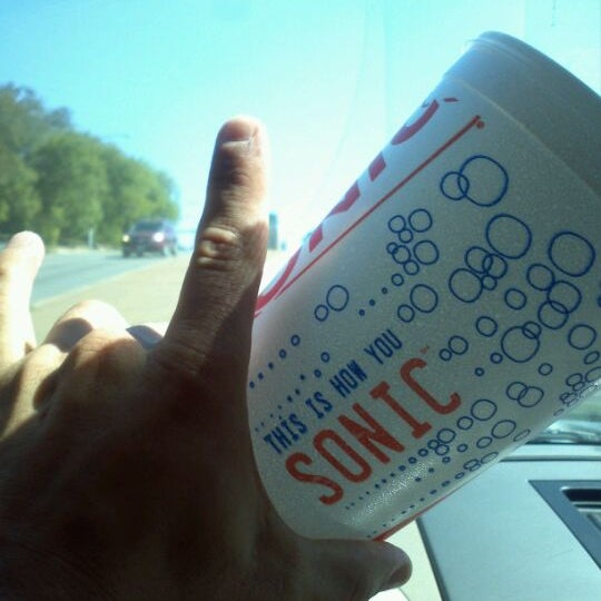 Photo taken at SONIC Drive In by Nolan on 10/15/2011