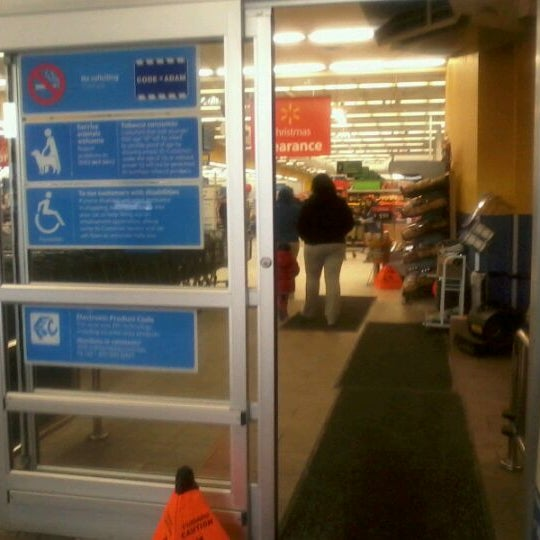 Photo taken at Walmart Supercenter by Phat P. on 1/3/2012
