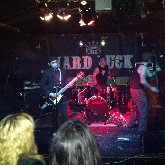 Photo taken at Hard Luck by Andrew (. on 3/18/2011