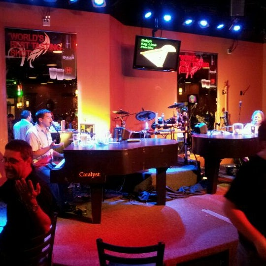 Photo taken at Baby Grands Dueling Pianos by Melissa S. on 10/12/2011