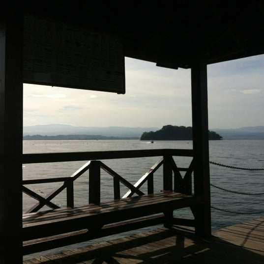 Photo taken at Manukan Island Jetty by Vincent C. on 3/3/2012