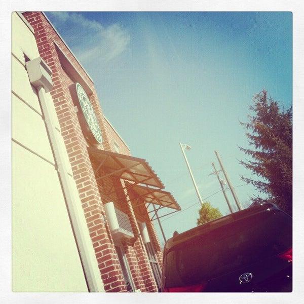 Photo taken at Starbucks by Mackenzie S. on 4/12/2012