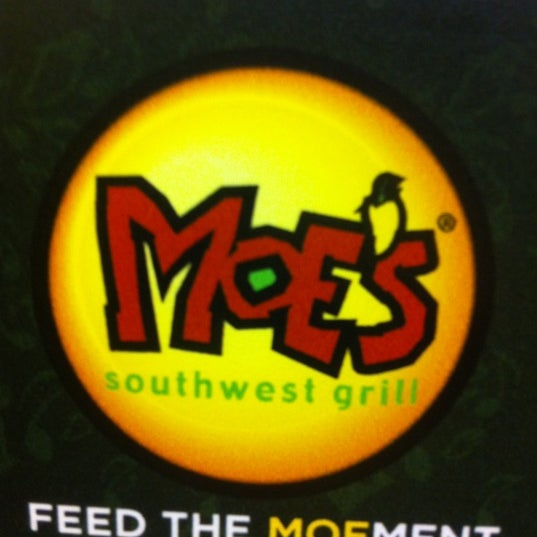 Photo taken at Moe's Southwest Grill by sandra a. on 2/26/2012