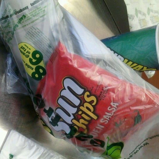 Photo taken at SUBWAY by Luisa R. on 2/3/2012