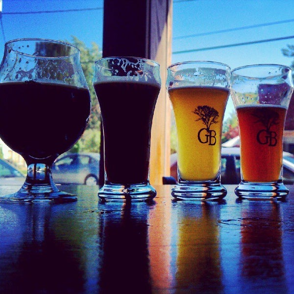 Photo taken at Greenbush Brewing Company by Tom G. on 8/18/2012
