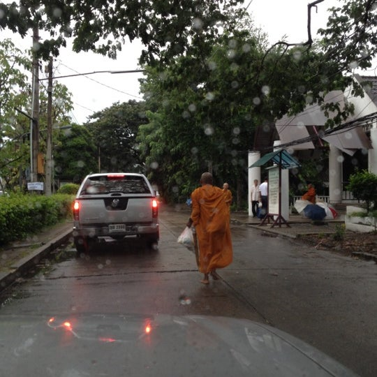 Photo taken at ลานใส่บาตร by Som O D. on 7/2/2012