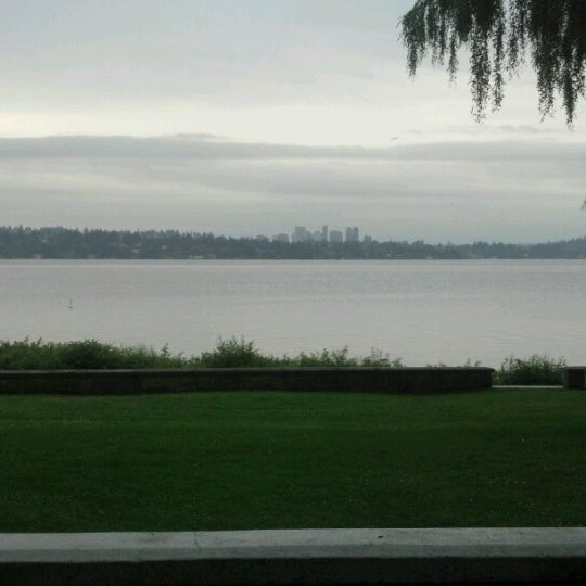 Photo taken at Denny Blaine Park by Carlos C. on 7/3/2012