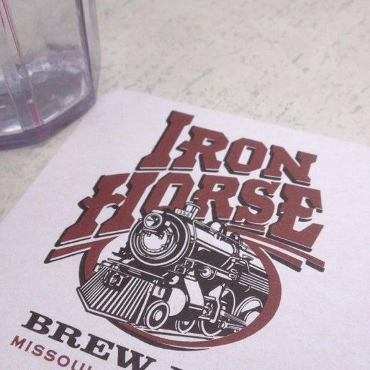 Photo taken at Iron Horse Brew Pub by Blake D. on 5/20/2012
