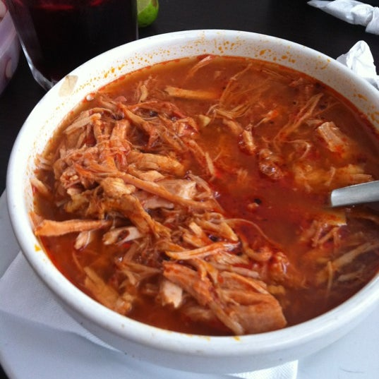 Photo taken at Pozole y Tacos Regios by naii p. on 5/9/2012