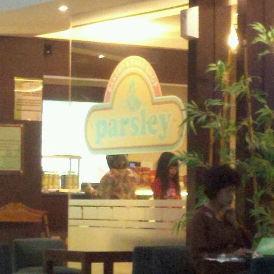 Photo taken at Parsley Bakery & Cake Shop by Muhammad T. on 4/10/2012