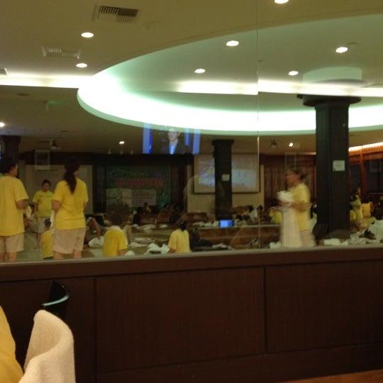 Photo taken at Wi Spa by Sang Hun L. on 4/14/2012