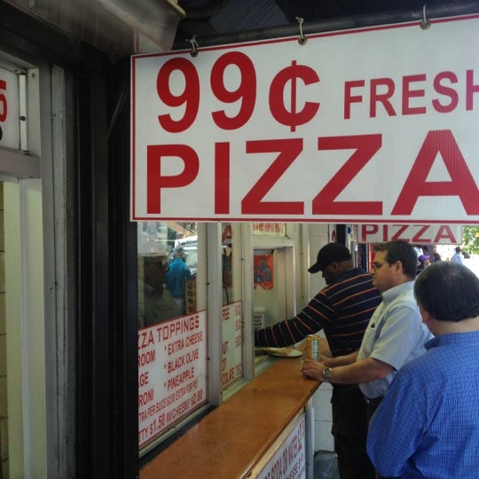 Photo taken at 99¢ Fresh Pizza by Camryman on 6/2/2012
