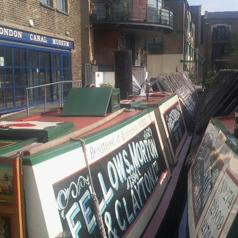 The steam narrowboat President is at London Canal Museum now and will be in steam this weekend so this is going to be a good weekend to visit!