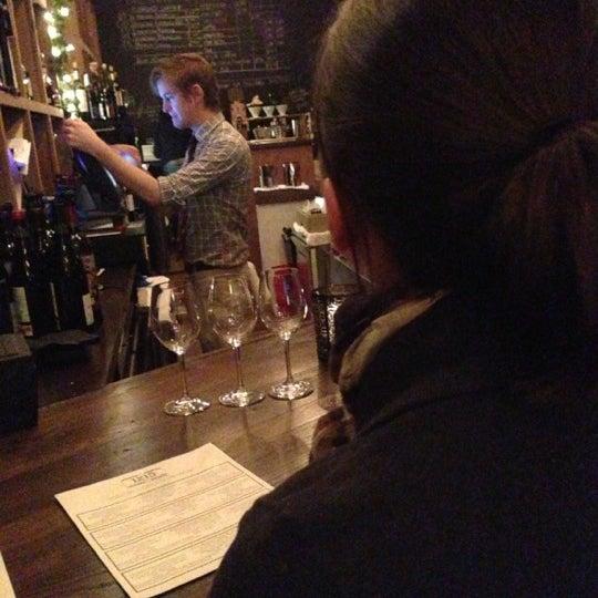 Photo taken at 1215 Wine Bar & Coffee Lab by Sean D. on 12/23/2012
