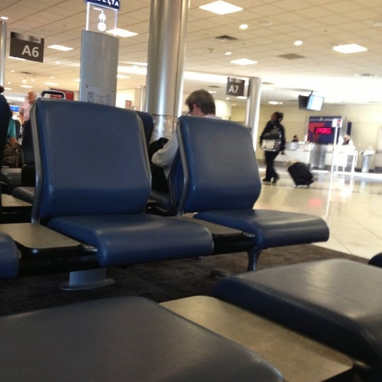 Photo taken at Gate A6 by Michael A. on 10/23/2012