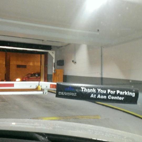 Aon Center Parking Garage
