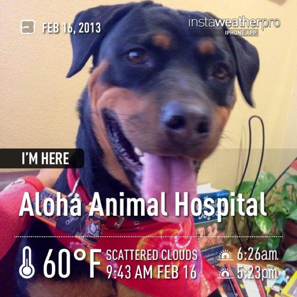 Photo taken at Aloha Animal Hospital by Cathy V. on 2/16/2013