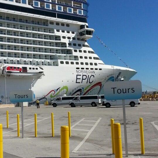 Miami Port: Photos At NCL Terminal