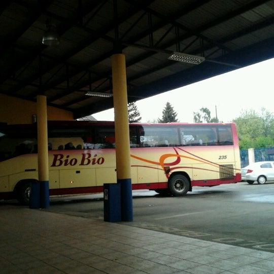 Photo taken at Terminal Buses Bio Bio Victoria by Pablo R. on 10/21/2012