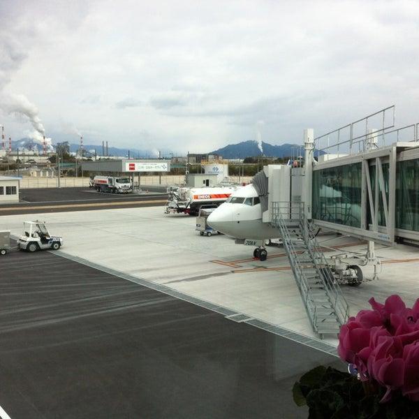 1/4/2013にNaoが岩国錦帯橋空港 / 岩国飛行場 (IWK)で撮った写真