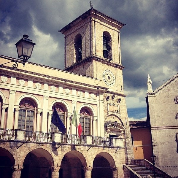 Photo taken at Norcia by Emanuele P. on 5/19/2014