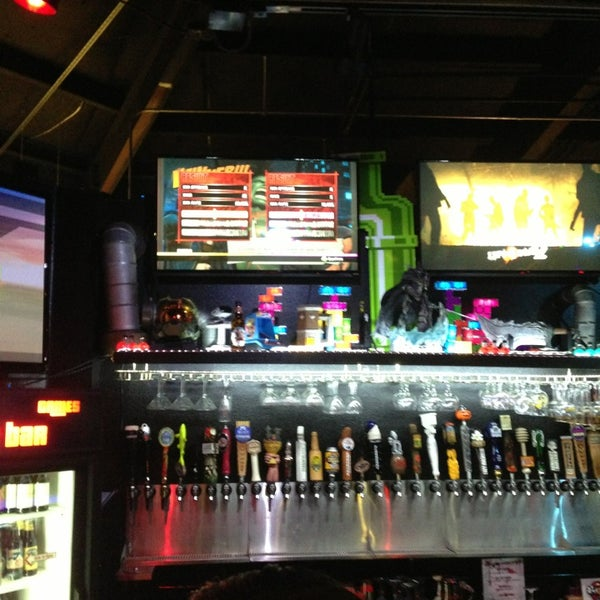 Photo taken at Player 1 Video Game Bar by Erick O. on 9/14/2013