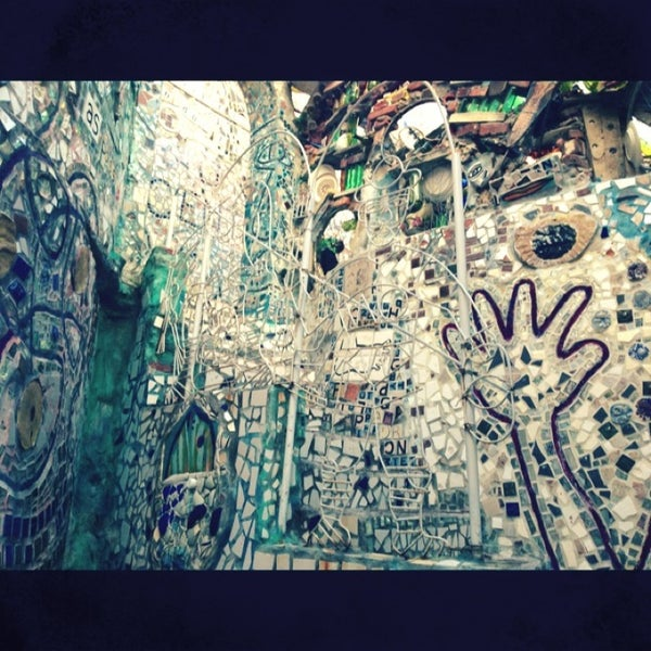 Photo taken at Philadelphia's Magic Gardens by Haley S. on 1/21/2013