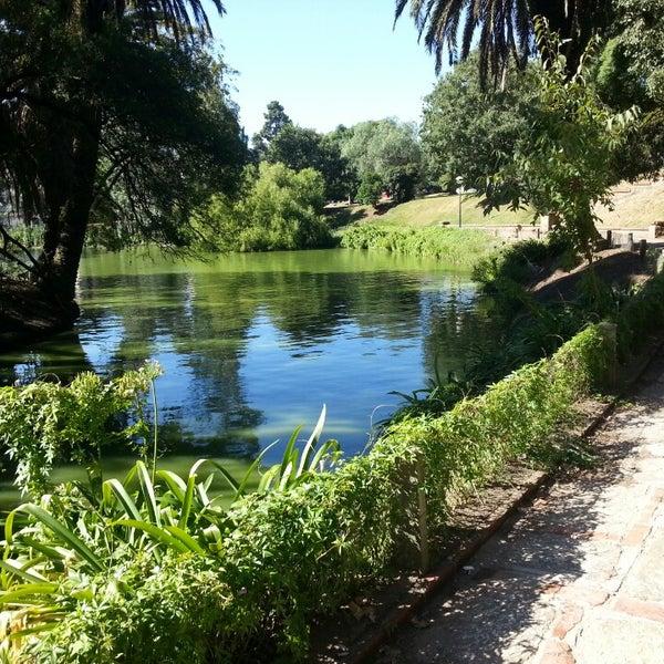 Photo taken at Parque José Enrique Rodó by Pier Cláudio M. on 2/22/2013