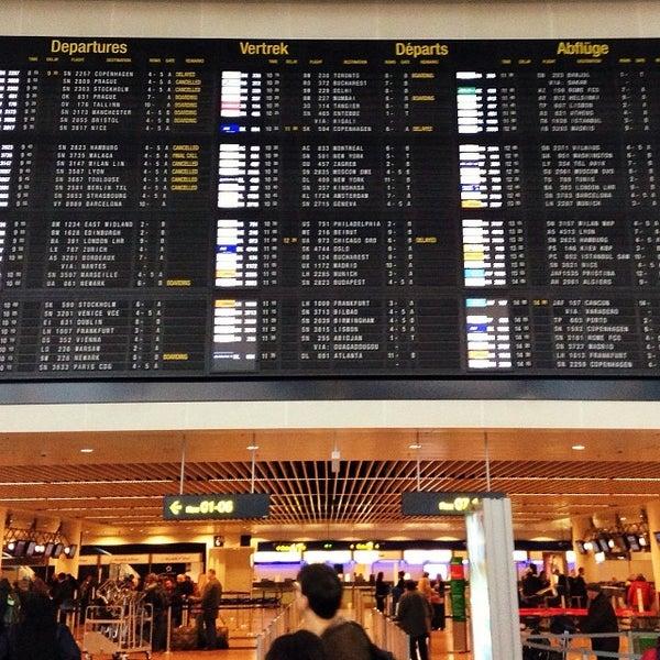Снимок сделан в Брюссельский аэропорт (BRU) пользователем Daniel M. 11/18/2013