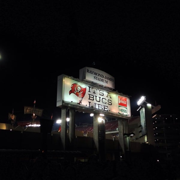 Photo taken at Raymond James Stadium by Mike S. on 10/25/2013
